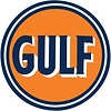 Ande Rooney Gulf Embossed Tin Sign