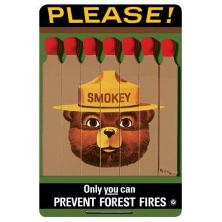 Only You Can't Prevent Forest Fires Sign