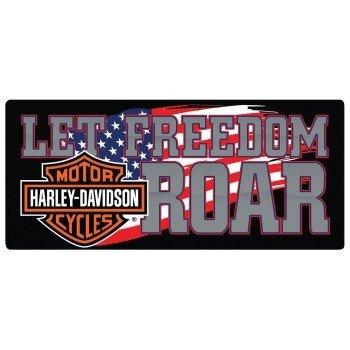 Harley Davidson® Let Freedom Roar Tin Sign