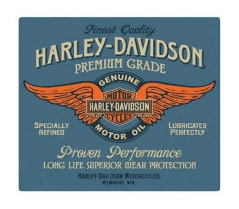 Harley Davidson Genuine Duty Oil Sign