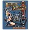Ande Rooney Harley Davidson Mechanic Babe Sign