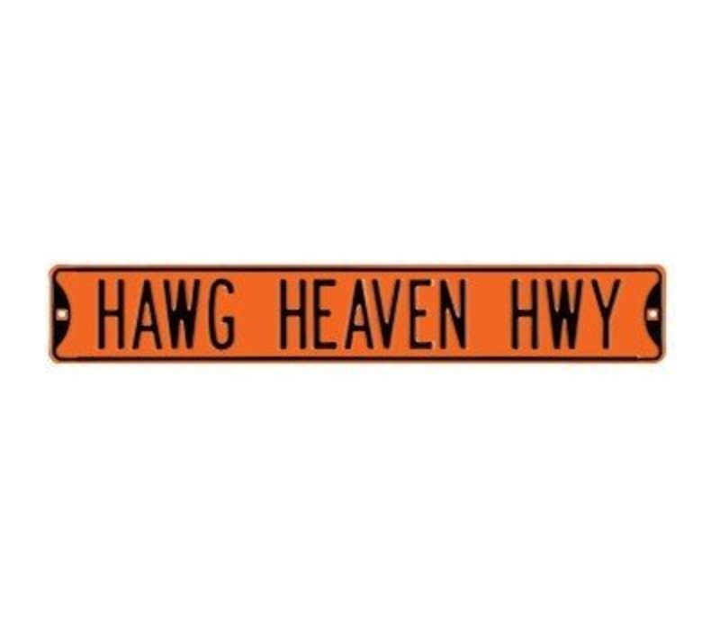 "Jawg Heaven Highway 36"" Street Sign"