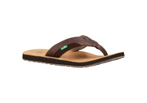 Sanuk Sanuk Mens Sheriff Dark Brown
