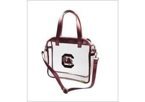 Clear USC Carryall Tote