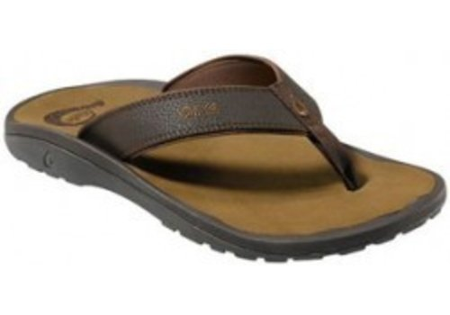 Olukai Olukai Men's Ohana DARK JAVA / RAY 10.0 Medium