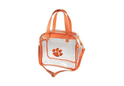 Clear Clemson Carryall Tote