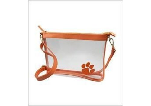 Clear Clemson Large Crossbody