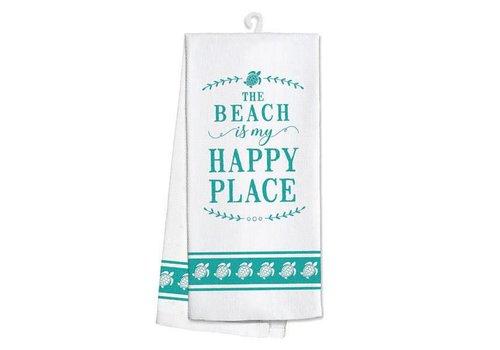 Kitchen Towel Beach My Happy Place