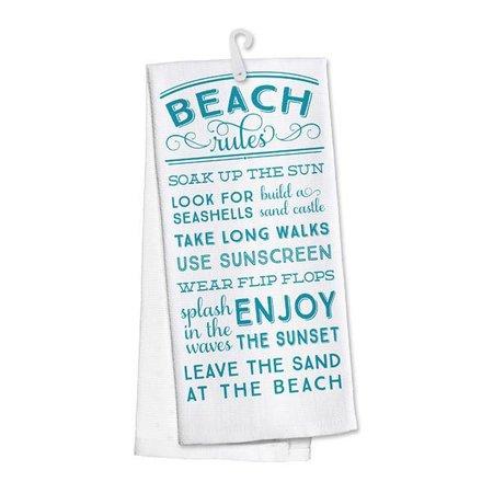 Kitchen Towel Beach Rules