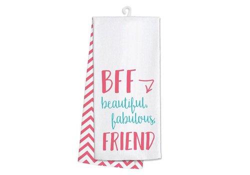 Kitchen Towel-BFF Beautiful Fabulous Friend