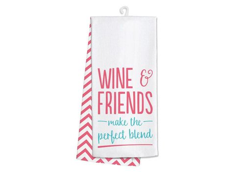 Kitchen Towel- Wine and Friends