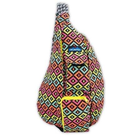 KAVU Rope Bag Neon Montage