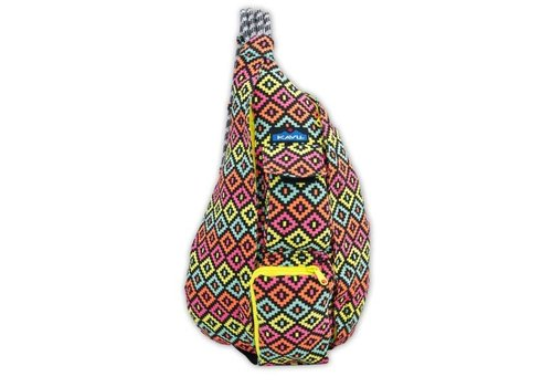 KAVU KAVU Rope Bag Neon Montage