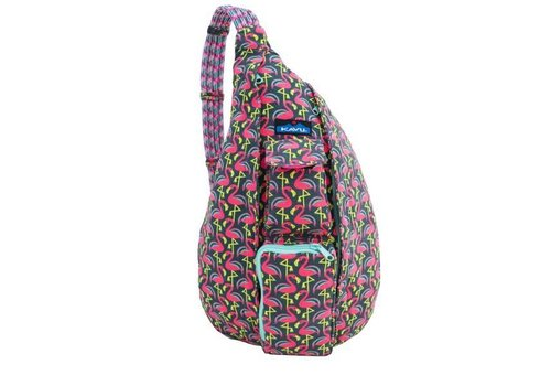 KAVU KAVU Rope Bag Pink Flamingo