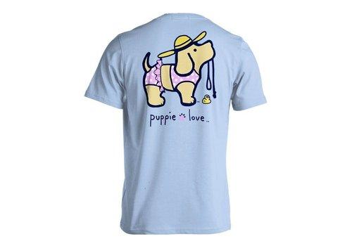 Puppie Love Puppie Love Bikini Pup Light Blue