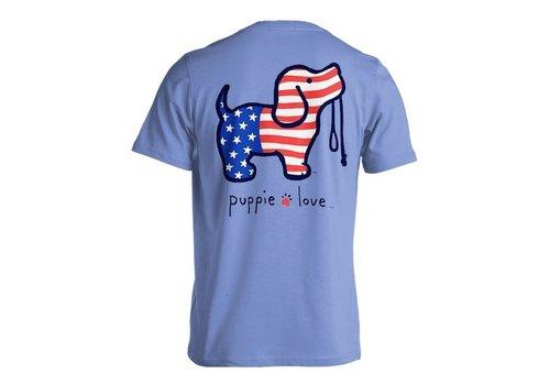 Puppie Love Puppie Love USA Pup Cobalt Blue