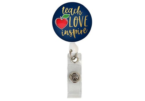 Simply Southern Simply Southern Lanyard Badge Reel Teacher