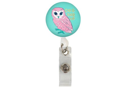 Simply Southern Simply Southern Lanyard Badge Reel Owl