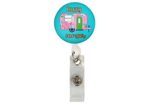 Simply Southern Simply Southern Lanyard Badge Reel Camper