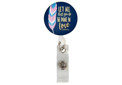 Simply Southern Simply Southern Lanyard Badge Reel Done in Love