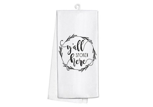 Kitchen Towel-Y'all Spoken Here