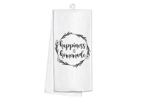 Kitchen Towel-Happiness is Homemade