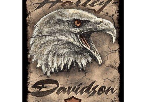 Ande Rooney Harley Davidson® Eagle Card Tin Sign