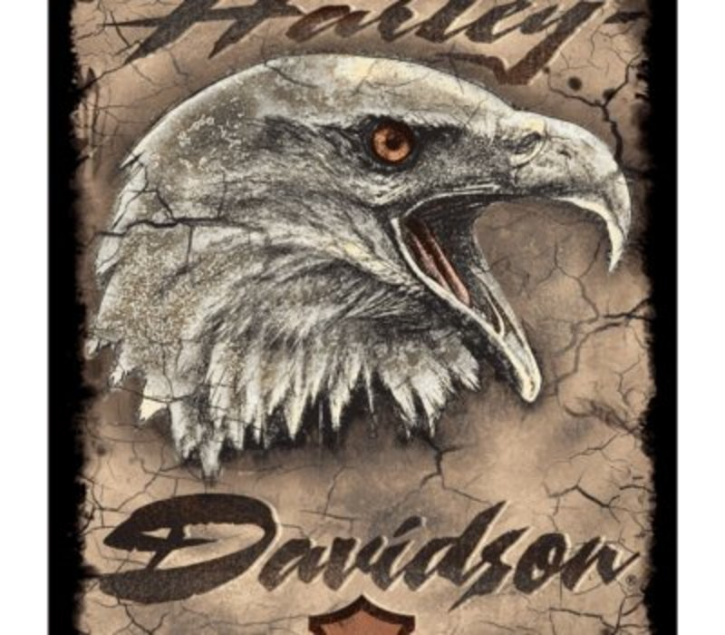 Harley Davidson® Eagle Card Tin Sign
