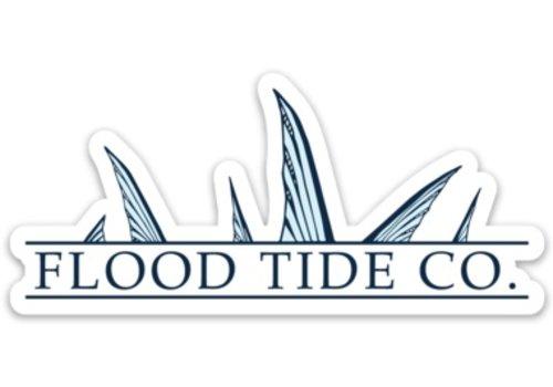 Flood Tide Co. Flood Tide TAILING BONE LOGO STICKER