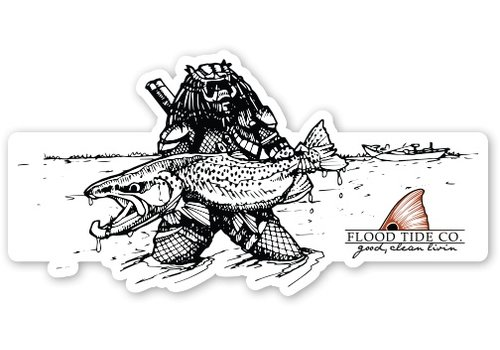 Flood Tide Co. Flood Tide PREDATOR STICKER 2.0