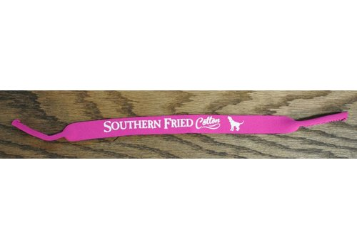 Southern Fried Cotton Southern Fried Cotton Logo Strap Hot Pink