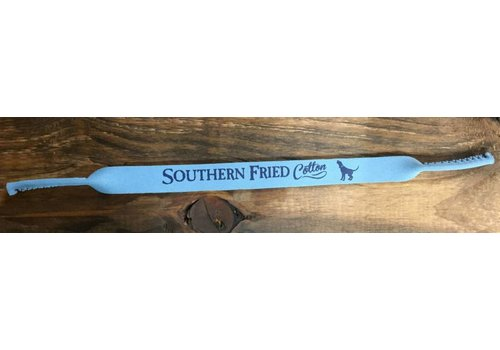 Southern Fried Cotton Southern Fried Cotton Logo Strap Sky Blue