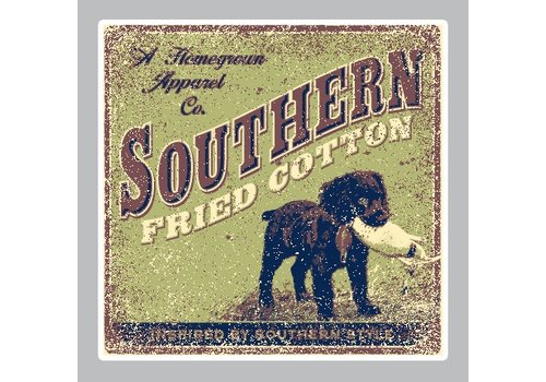 Southern Fried Cotton Southern Fried Cotton Avery Decal