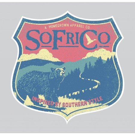 Southern Fried Cotton Mountain Decal