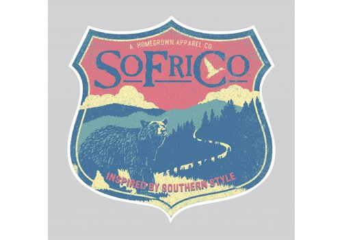 Southern Fried Cotton Southern Fried Cotton Mountain Decal