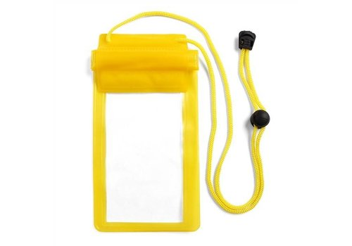 Yellow Waterproof Cell Phone Case