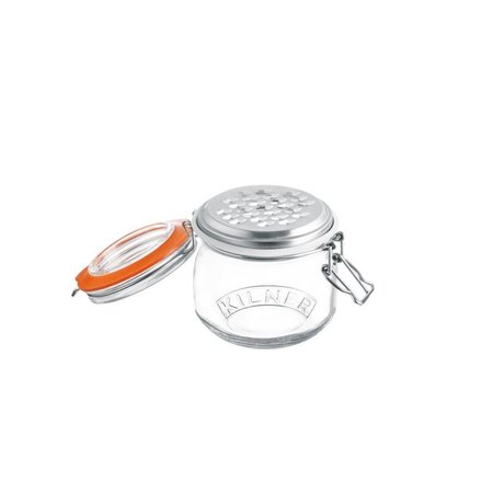 Kilner Clip Top Jar With Grater 17 FL OZ