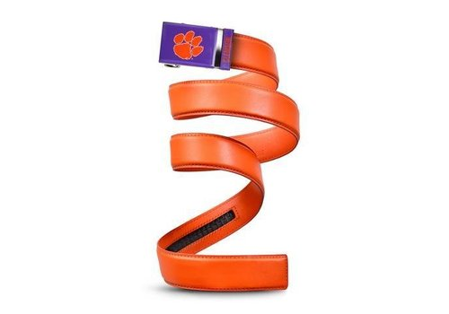 Mission Belt Mission Clemson Dark Orange Leather Belt