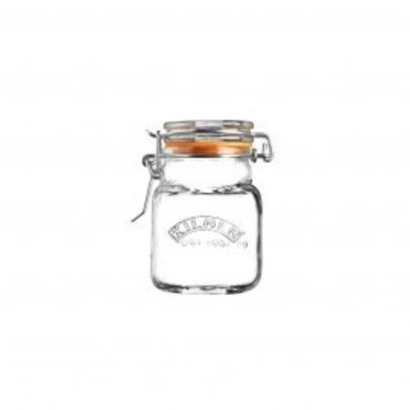 Kilner Clip Top Square Spice Jar 2 FL OZ