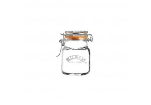 Typhoon Homewares Kilner Clip Top Square Spice Jar 2 FL OZ