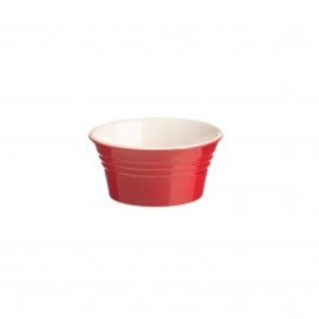 Mason Jar Classic Kitchen Red Ramekin 3.75""