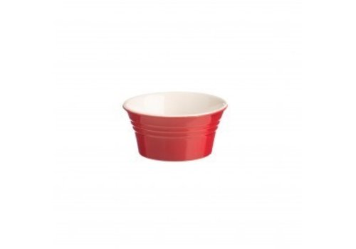 Typhoon Homewares Mason Jar Classic Kitchen Red Ramekin 3.75""