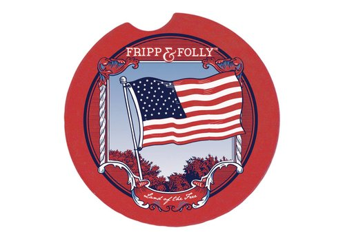 Fripp & Folly Fripp & Folly Car Coaster USA
