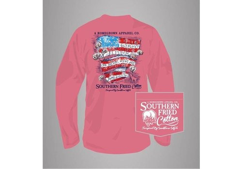 Southern Fried Cotton Southern Fried Cotton Belle Pledge L/S