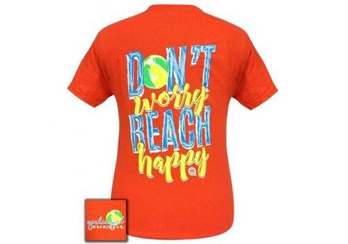 Girlie Girl Girlie Girl Don't Worry Beach Happy