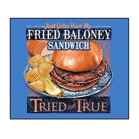 Tried & True Bologna Sandwich Flo Blue