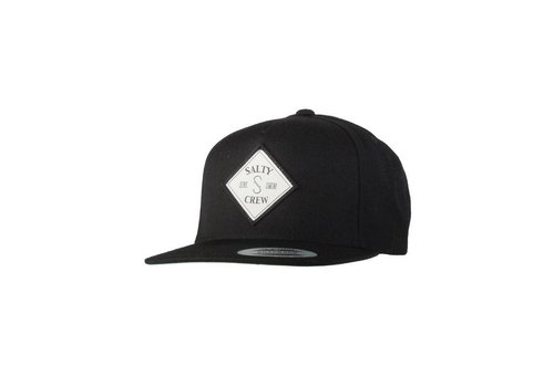 Salty Crew Salty Crew Tippet Patched 5 Panel Hat Black