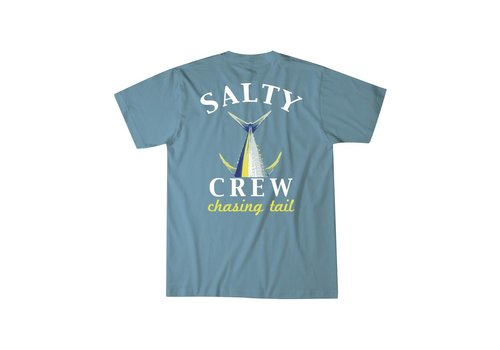 Salty Crew Salty Crew Chasing Tail T-Shirt Slate
