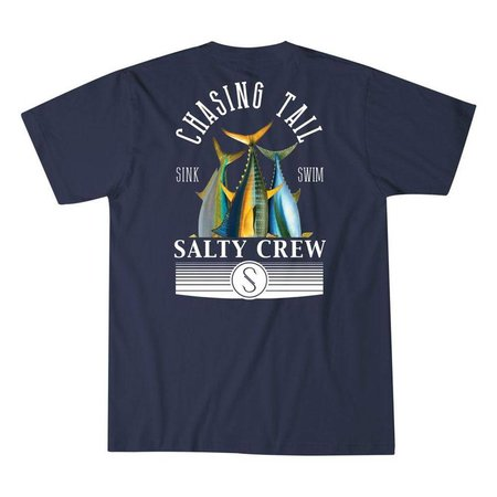Tails Up T-Shirt Navy