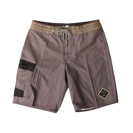 Salty Crew Fisher Solid Utility Trunk Charcoal
